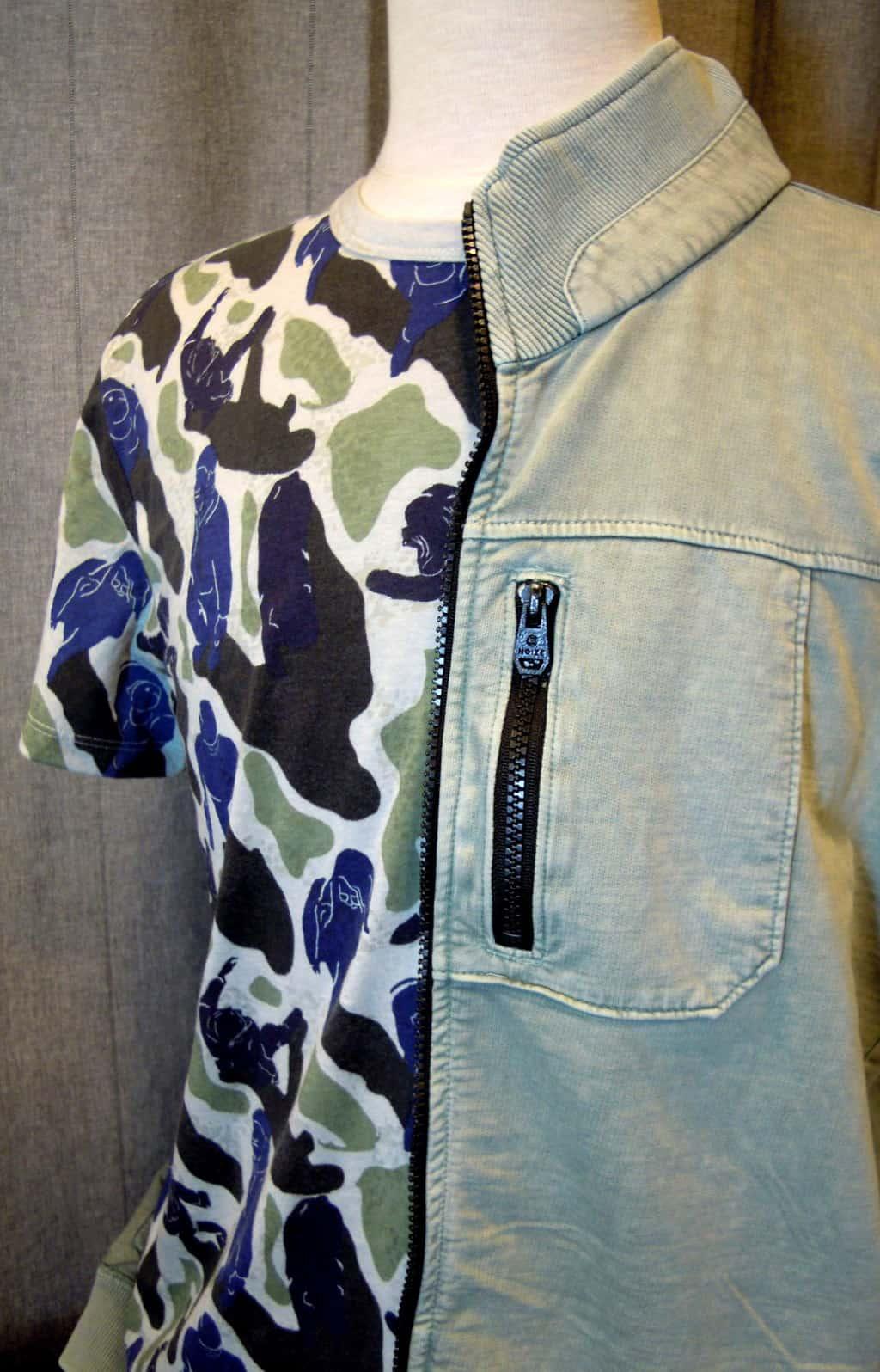 T-shirt €34,95 - Vest €69,95